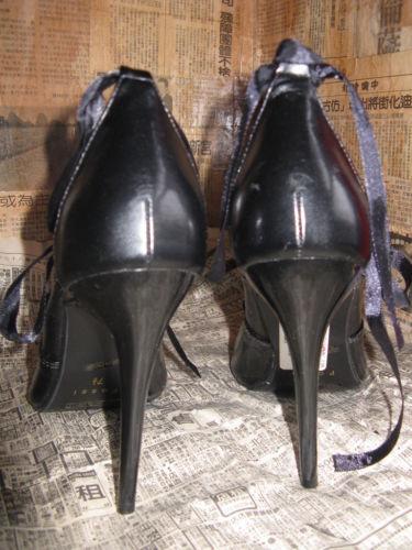 Super spiked stiletto heel corset pump shoes 10 UK7.5 39 image 9