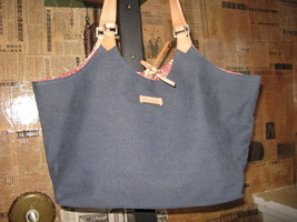 Ellington Portland reversible canvas tote handbag image 2