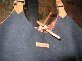 Ellington Portland reversible canvas tote handbag image 3