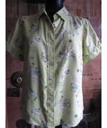 Pin Up Girl Print! Tiki Oasis Hawaiian rockabilly silk camp shirt VLV M - $44.68