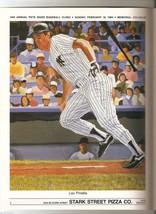 1984 Pete Ward Baseball Clinic program Lou Piniella Boog Powell Kevin McBride image 2