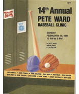 1984 Pete Ward Baseball Clinic program Lou Piniella Boog Powell Kevin Mc... - $279.25