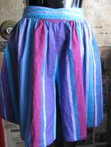 Vintage 80s Esprit New Wave Skort shorts mini skirt 5/6 image 1
