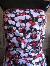 Ruby Rox Pink Cherry Pin-up Rockabilly swing dress 9 VLV image 3