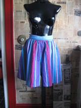 Vintage 80s Esprit New Wave Skort shorts mini skirt 5/6 image 4
