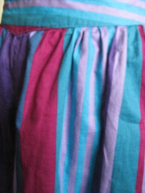 Vintage 80s Esprit New Wave Skort shorts mini skirt 5/6 image 5