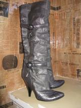 Just Cavalli logo wedge heel silver boots 6 UK3.5 36.5 image 1