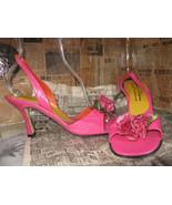 Beverly Feldman Love & Desire roses 80s shoes 10 UK7.5 39 - $231.53