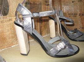 Gucci reptile snake rhinestones crystals bling sandals shoes heels 6.5 UK4 36.5 image 5