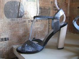Gucci reptile snake rhinestones crystals bling sandals shoes heels 6.5 UK4 36.5 image 7
