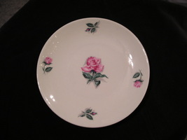 Homer Laughlin Rhythm Rose Bread and Butter Plate - $4.00