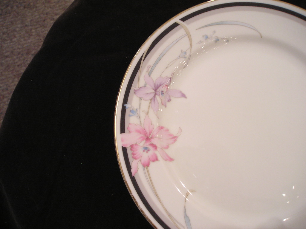 USS Royal Orchid Salad Plate