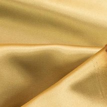 Satin Fabric 60 Inch Wide For Weddings, Decor, Gowns, Sheets, Costumes, ... - $7.64