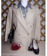 Jacket Blazer  8P  Beige  Wool  Ralph Lauren As New - $30.00