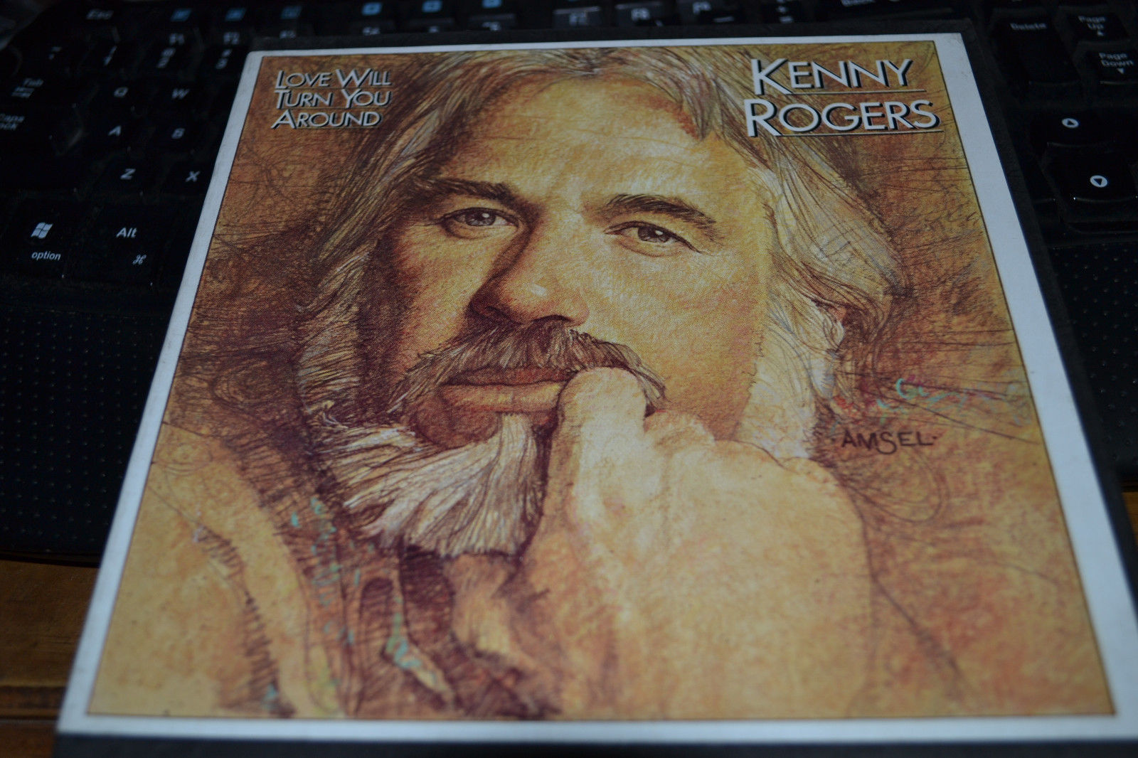 Kenny Rogers Love Will Turn You Around Reel to Reel Tape Very Nice Shape!!!