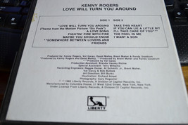 Kenny Rogers Love Will Turn You Around Reel to Reel Tape Very Nice Shape!!! image 3