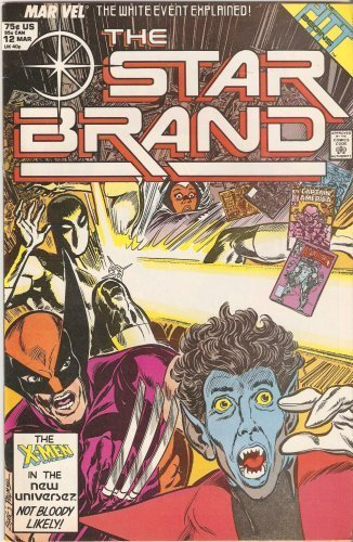 The Star Brand #12 March 1988 [Comic] by John Byrne