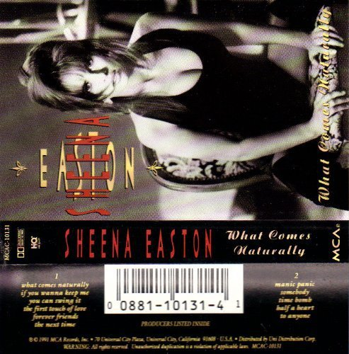 What Comes Naturally [Audio Cassette] Easton, Sheena