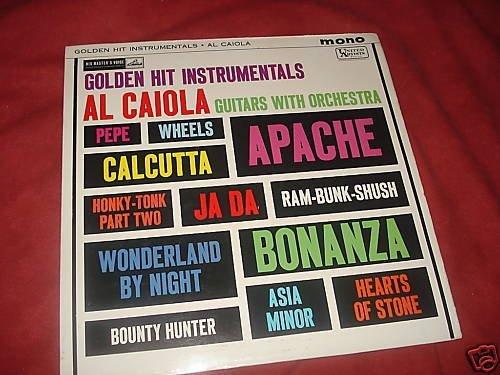 Al Caiola Golden Hit Instrumentals LP (Bonanza) [Vinyl]