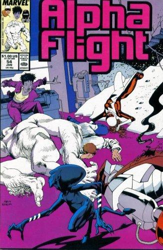 Alpha Flight #54 : Goblyn (Marvel Comics) [Paperback] by Bill Mantlo; Hugh Ha...