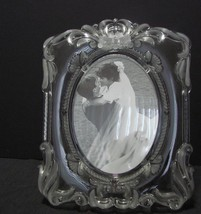 Mikasa Princess Crystal Photo Frame - $10.90