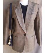 Jacket  8 10  Brown  Glen Plaid  Wool  Lord an Talylor - $40.00