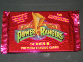 Trading Cards - SERIES 2 MIGHTY MORPHIN POWER RANGERS - PREMIUM CARDS (1994) image 1