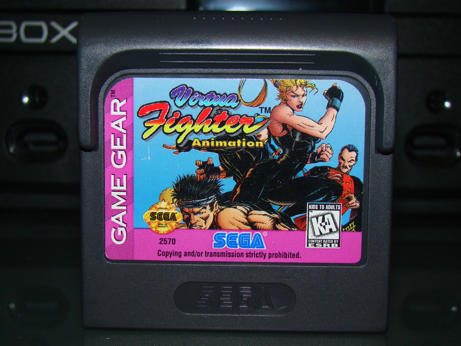 SEGA GAME GEAR - Virtua Fighter Animation (Game Only) image 2