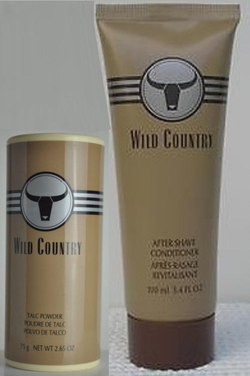 1 Avon Wild Country After Shave Conditioner + 1 Avon Wild Country Talc Powder