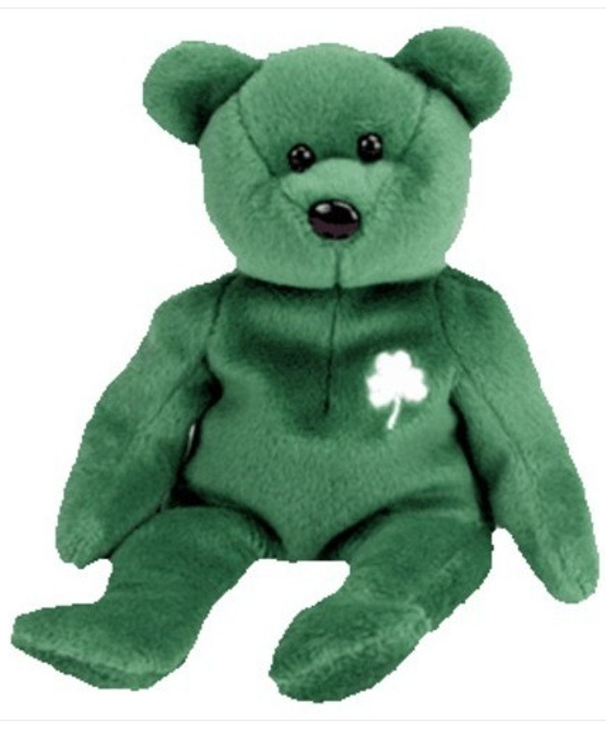 TY Beanie Baby ERIN the Bear (5.5 inch) RETIRED Tush Tag Attached 1997