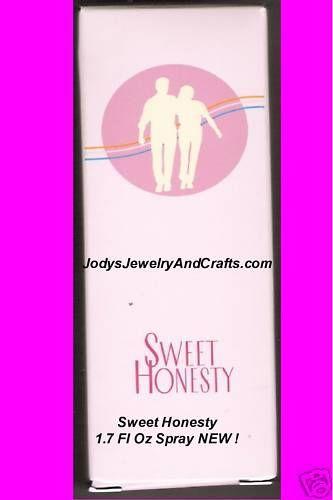 Avon Sweet Honesty Spray 1.7 Fl Oz NEW IN BOX !