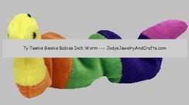 TY Teenie Beanie Baby Rainbow Inch Worm 1993 Ty Inc image 2