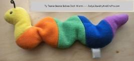 TY Teenie Beanie Baby Rainbow Inch Worm 1993 Ty Inc image 1