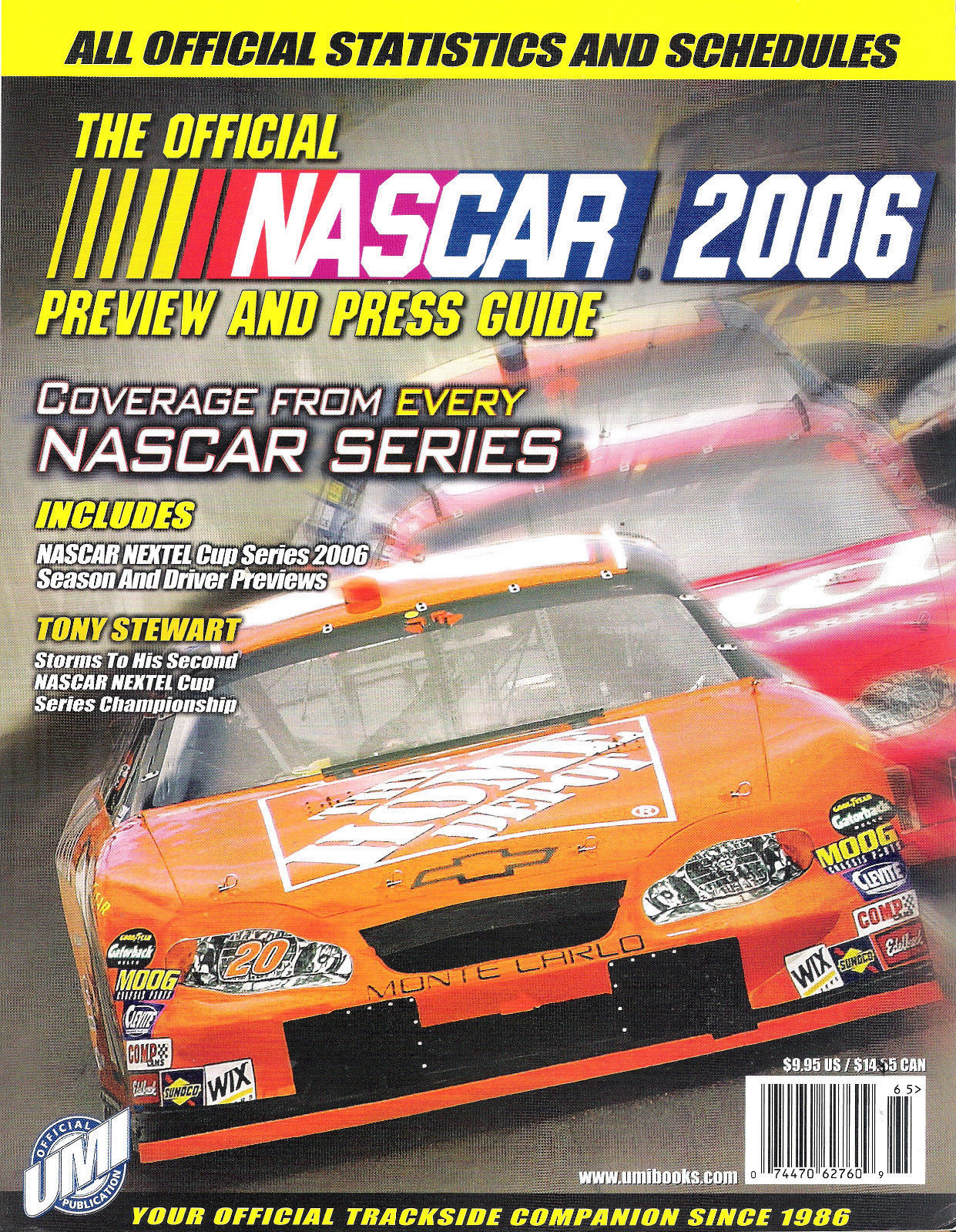 NASCAR 2006 Preview and Press Guide - FROM COLLECTOR'S STOCK