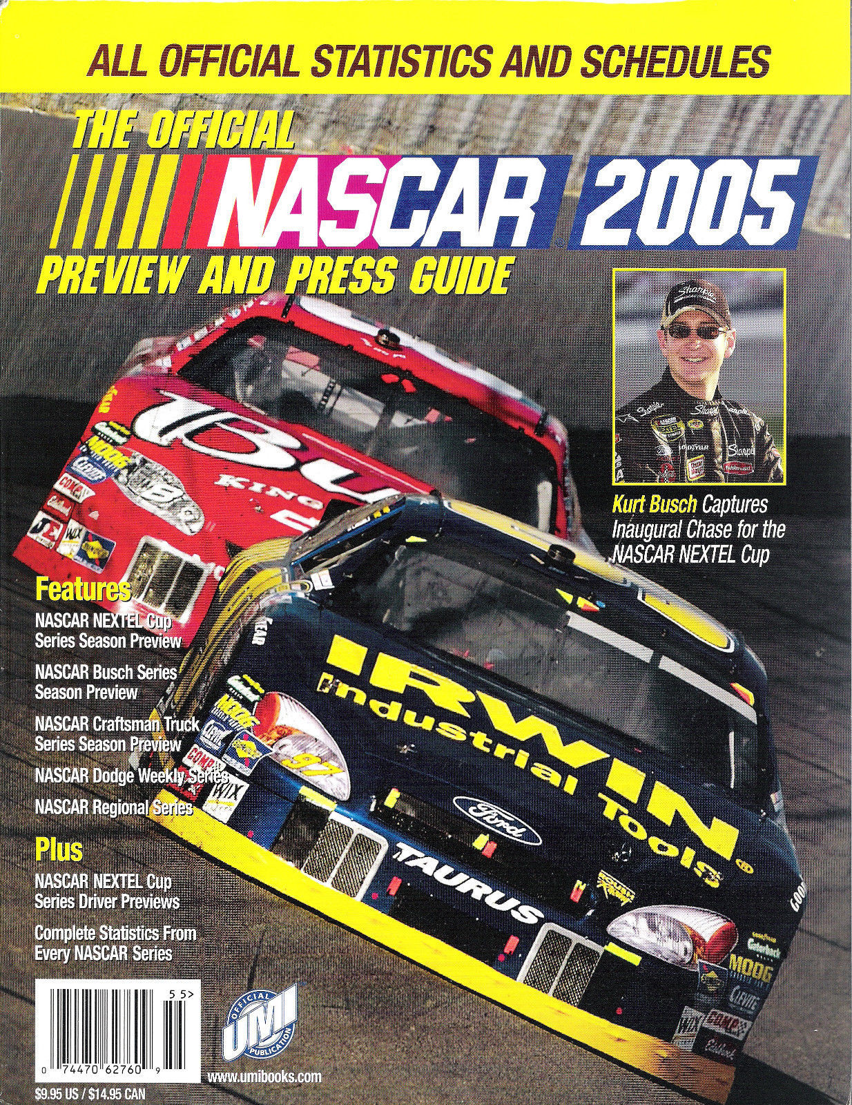 NASCAR 2005 Preview and Press Guide - FROM COLLECTOR'S STOCK