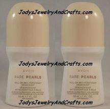 Lots Of 2 Avon Roll On Deodorants OnDuty Feelin Fresh Wild Co Rare Pearl + image 4