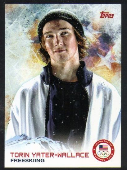 2014 Topps U.S.A. Winter Olympics #95 Torin Yater-Wallace Freeskiing