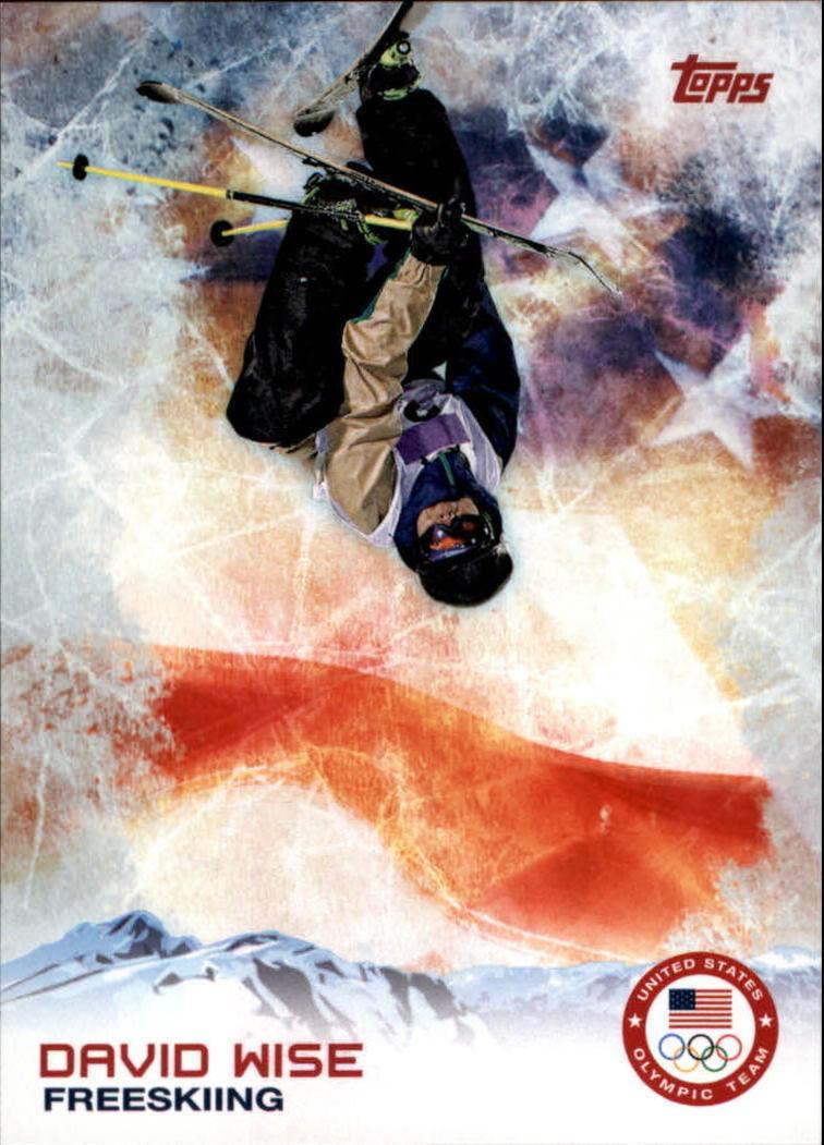 2014 Topps U.S. Olympics #94 David Wise Freeskiing