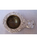 Tea Strainer  Silver  Germany  Antique  Estate Item - $80.00