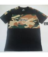 Nike Men NSW SS Sport Block Shirt - AV5939 - Black 010 - Size M - NWT - $23.99