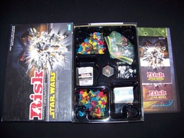 RISK Star Wars 2005 board game Clone Wars Conquest 100% complete boardgame - $39.99