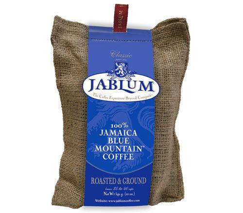 100% Jamaican Blue Mountain Coffee  (Jablum Roasted & Ground) 16 oz ___ 3 packs