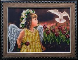 Wall art décor - bead embroidery on art canvas ... - $105.00