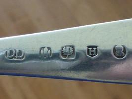 "1826 DD Edinburgh Scotland Sterling Silver Serving Spoon JL 8.5"" image 2"