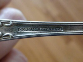 "Gorham SECRET GARDEN Rose Sterling Silver Solid LADLE Spoon 7.5"" image 2"