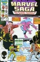 The Marvel Saga #7 [Comic] by Peter Sanderson - $7.99