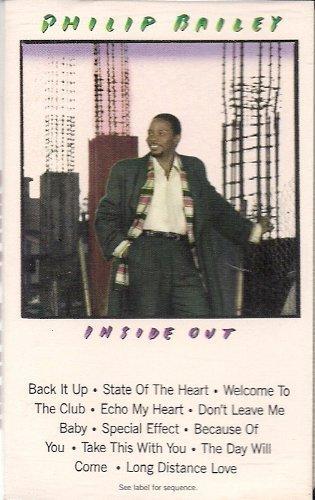 Inside Out [Audio Cassette] Bailey,Phillip