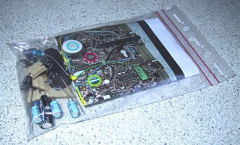 Capacitor kit for Bang & Olufsen Beogram 6006 8000 8002