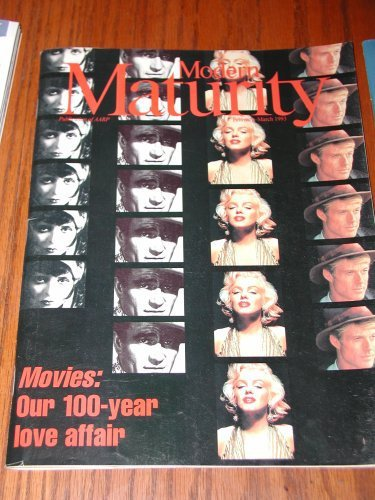 Modern Maturity Magazine Back Issue February March 1993 Marilyn Monroe Robert...