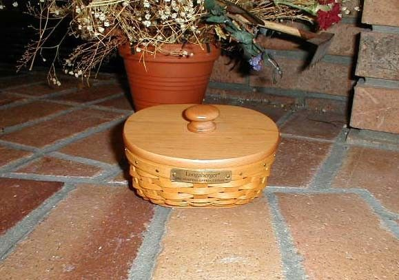 Longaberger 2002 Lucky Charm Basket Plastic Protector Only New Authentic